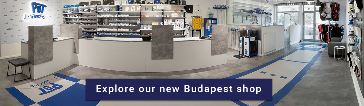 PBT Fencing - Explore our new Budapest shop