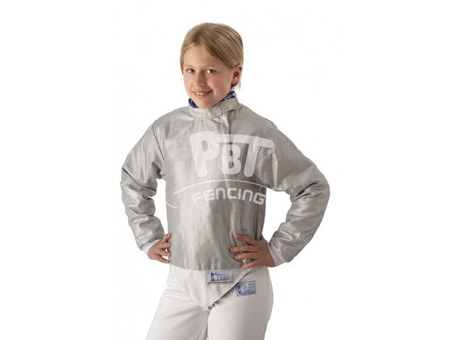 Electric sabre jacket INOX, washable for children