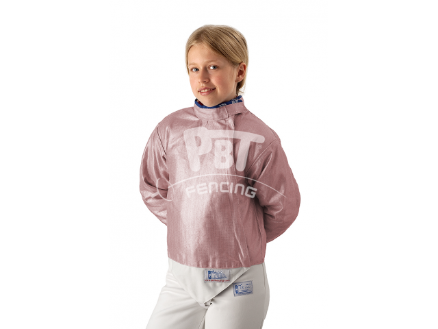 Electric sabre jacket INOX PINK, washable for children