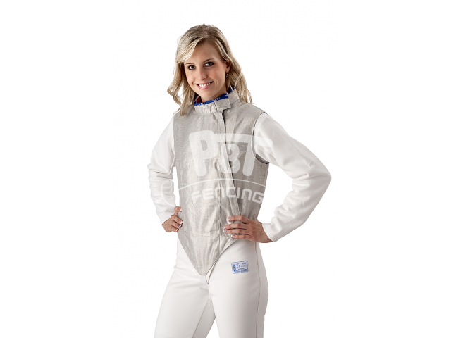 Electric foil jacket INOX, washable for women