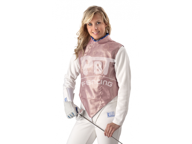 Electric foil jacket INOX PINK, washable for women