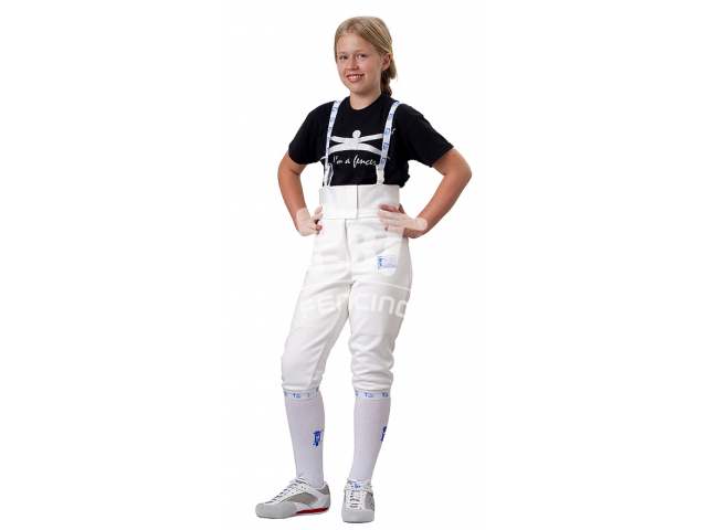 Fencing pants 350 N Elastic for children MINI