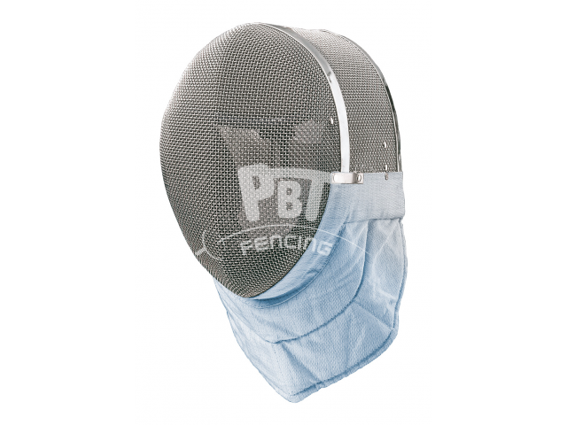 El. sabre mask FIE 1600 N with ICE BLUE bib incl. mask cable