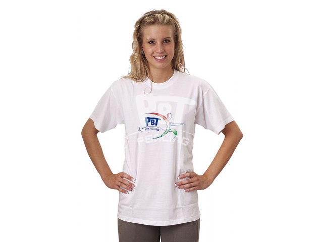 T-shirt with new PBT logo