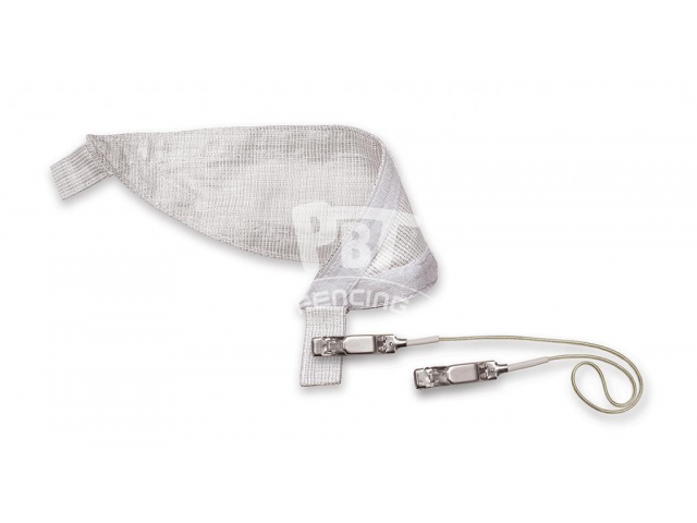Replacement conductive bib for Combi mask incl. mask cable