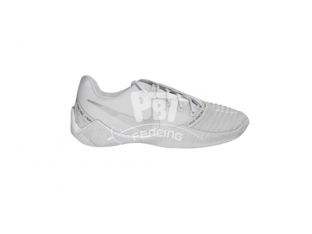 Fencing Shoes Nike Ballestra 2 WHITE-SILVER