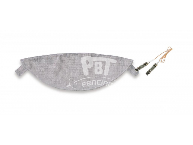 Conductive overlay with fixing tape for PBT masks, incl. mask cable